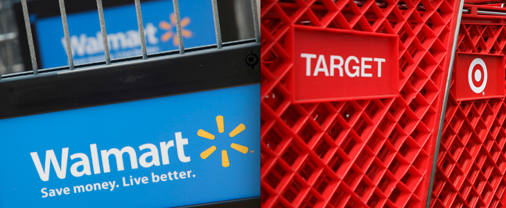 "walmart target groups ""walmart has a certain clientele: their center of gravity compared to target is a bit lower income, a bit more rural, a bit more red zone culturally, and a bit older"" — and that demographic."